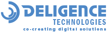 Flutter App Development Company in India - Deligence Technologies  logo