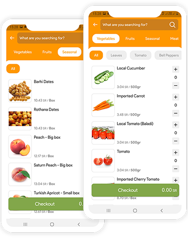 Ananas Grocery delivery app